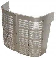 "CENTER GRILLE SECTION W/SCREEN   ONLY 17"" TALL   International Applications: A, SUPER A, EARLY A-1 (UP TO SN 356000), B, BN, C"