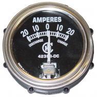 AMP GAUGE   20-20 IHC   CHROME BEZEL   International Applications: A, B (1939-46); H, M, W, I, O SERIES (1939-46)   Replacement Part #: IH: 42383DC