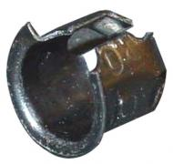 """EMBLEM TUBULAR CLIP  SOLD INDIVIDUALLY  FITS EMBLEMS WITH UP TO A 1/5"""" PEG  FITS PEGS WITH 0.195"""" DIAMETER USED FROM 1958 TO PRESENT  International Applications: 140, """"FARMALL"""" & """"IH"""" EMBLEMS, 656 & UP SIDE EMBLEMS  Replacement Part #: IH: 370786R1"""