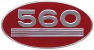 SIDE (OVAL) EMBLEM 
