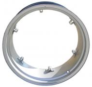"REAR RIM 11"" X 28""   11"" x 28""   6 LOOPS   USA MADE   International Applications: 300 UTILITY, 350 UTILITY, 330, 340 UTILITY, 504, 404 UTILITY, 424, 444, 460 UTILITY, B250, B275, B414 & OTHER IH MODELS  Please check and measure your tractor closely because if this rim does not fit, we do not pay return shipping on rims."