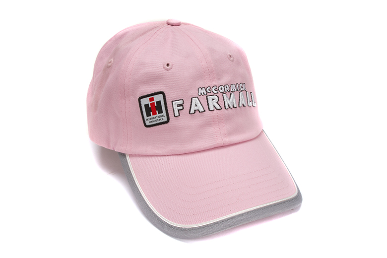 Discontinued* IH Farmall Womens Pink Baseball Hat